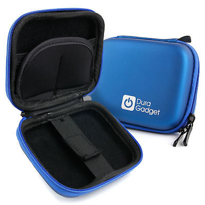 Blue Hard Case with Carabiner Clip for Myzone MZ3 Activity Belt