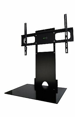 "Refurbished Wall mounted TV bracket with Glass Shelf 32""-50"" LED LCD"