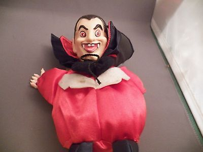 Dracula or Vampire Beg Bag Type  7 Inches Tall
