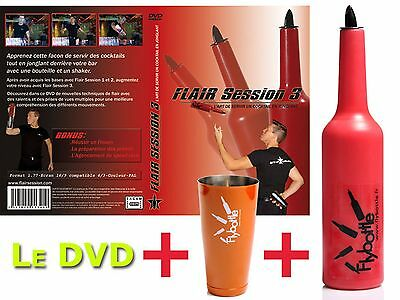 1 Bouteille Flybottle Classic + 1 Shaker + Dvd Flair Session 3