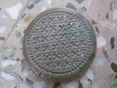 Old  Engraved Dye Mold Seal Stamp 8