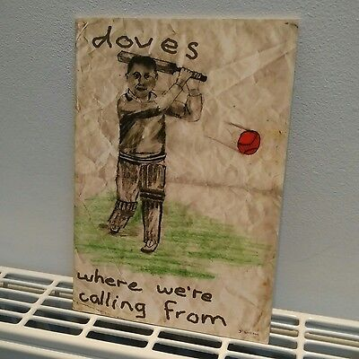 """DOVES band tour fanzine/booklet """"Where We're Calling From"""" (28 pages approx.)"""