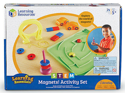 Learning Resources STEM - Magnets Activity Set - NEW