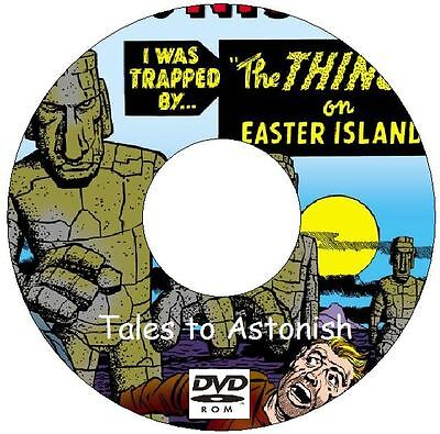 Classic Vintage Tales to Astonish Comics Vol. 1 Issues 1 - 101 on DVD Silver Age
