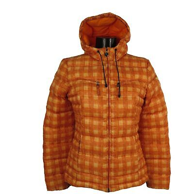 CHERVO Golf Steppjacke Daunen-Jacke Mortissia orange 80C Gr.36 neu