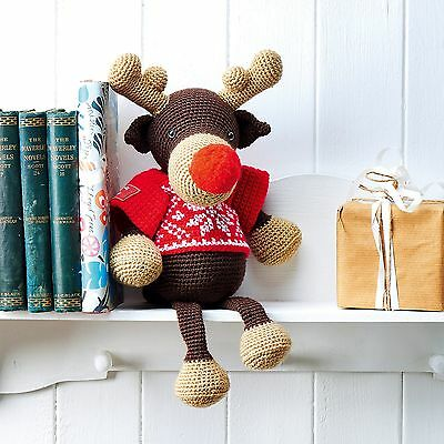 Make & Crochet Your Own Rudolph the Reindeer | 400g Yarn Kit Including Pattern!