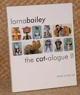 Free Post - Lorna Bailey Book - The Cat-Alogue 2