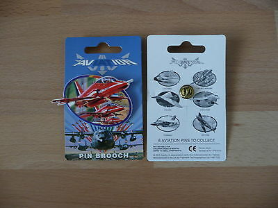 Royal Air Force Red Arrows - International Air Tattoo official pin brooch badge