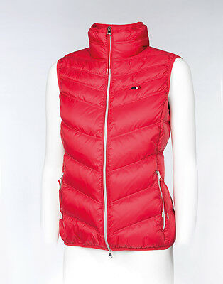 Equiline Women's 'Josephine' Padded Vest -  Red - Size: X-Large