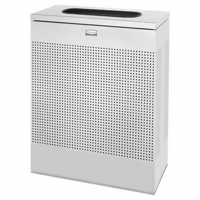 "24"" Open-Top Trash Can, Rubbermaid, FGSR18EPLSM"