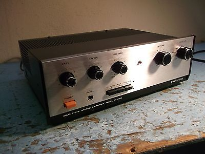 Kenwood KA-2002 stereo integrated amplifier-2 phono inputs,new capacitors, nice!