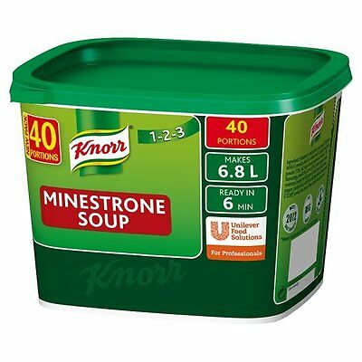 Knorr Minestrone Soup 1 x 40 Portions