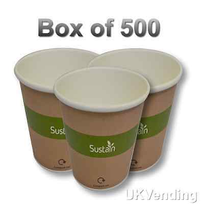 Compostable Paper Cups 8oz 240ml 500 per box