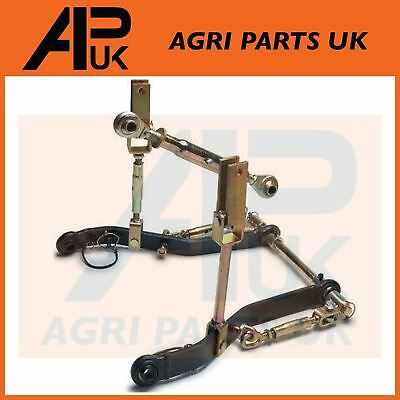 NEW Cat Category 1 Garden Compact Tractor 3 point Linkage Kit Set Kubota Iseki