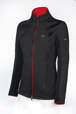 Equiline 'Kizzy' Womans Softshell Tech Tailored Jacket - Black - Size: Small