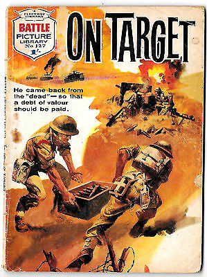 Battle Picture Library 127 (1963) mid-high grade copy