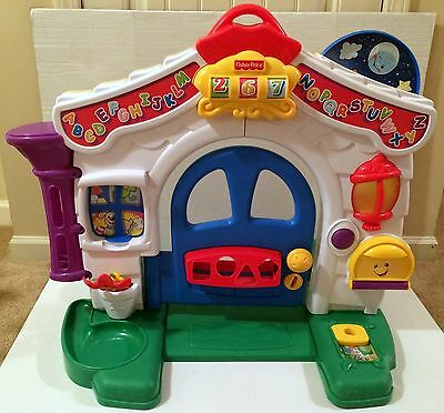 Fisher Price Laugh and Learn Learning Home Playhouse Sounds Lights!