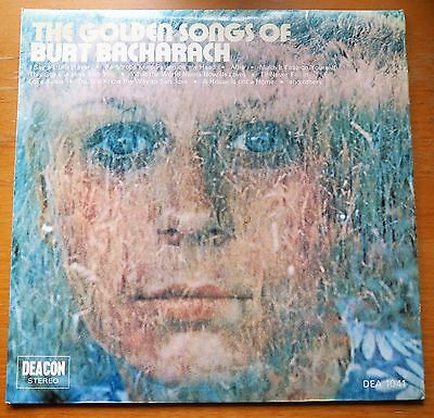 Vinyl Lp - The Golden Songs Of Burt Bacharach - 1971 (Uk)