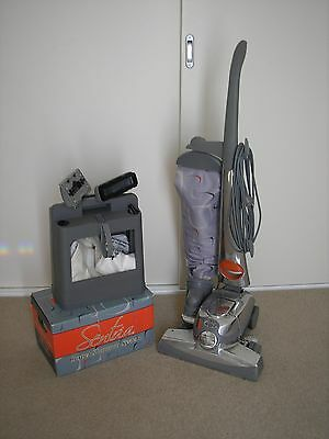 Kirby upright vacuum,accessories to do all household cleaning,and carpet shampoo