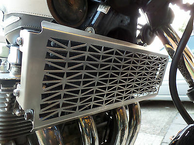 xjr1300 oil cooler cover brushed stainless steel