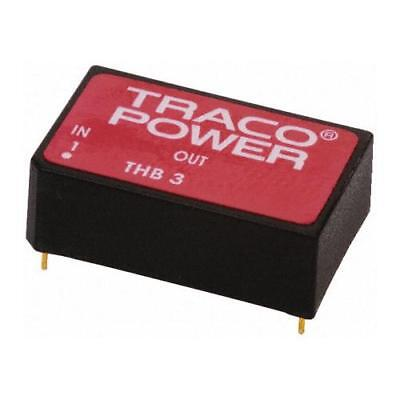 1 x TRACOPOWER Isolated DC-DC Converter THB 3-0522, Vin 4.5-9 V dc, Vout ±12V dc