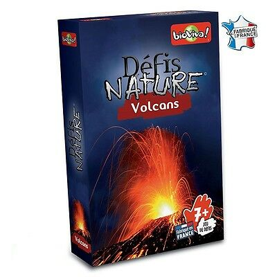 Défis Nature Volcans - Bioviva Editions - NEUF