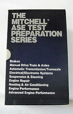Mitchell Ase Test Preparation Series 9 Prep Books Study Guide***must See***