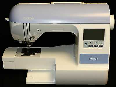 BROTHER PE-770 EMBROIDERY MACHINE w/ USB PORT—BLACK FRIDAY BLOWOUT SALE!