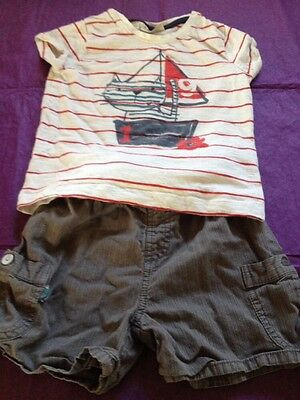 A Lovely Outfit Shorts & T-shirt Age 2/3yrs