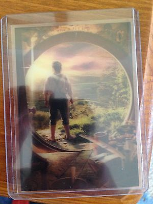 The Hobbit An Unexpected Journey 3D Lenticular Card KA-01