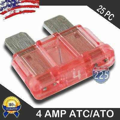 25 Pack 35 AMP ATC//ATO STANDARD Regular FUSE BLADE 35A CAR TRUCK BOAT MARINE RV