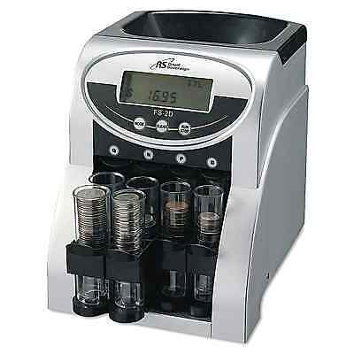 Coin Change Sorter Machine Money Counter Sort Count Wrapper Electronic Digital