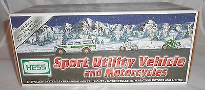 HESS 2004 Sport Utility Vehicle and Motorcycles