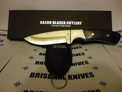 Razor Blades Elite Hunter 420C Stainless Skinning Hunting Camping Knife. Bowie