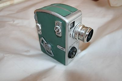 Vintage Mechanical Movie Camera Pentacon Pentaka 8B, Carl Zeiss Biotar 2/12,5