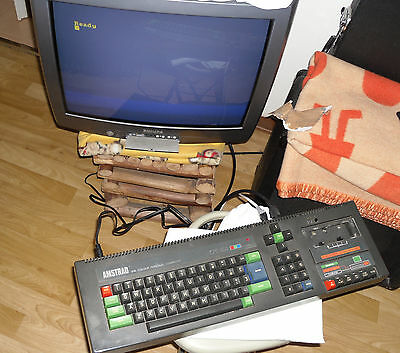 RETRO GAMING PC Computer - AMSTRAD CPC 464 - 100% WORKING