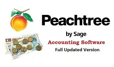 Sage Small Business Accounting Software Peach Tree Free & Fast Shipping