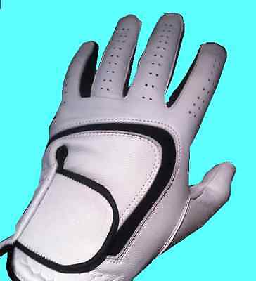 Men's Golf Glove - FREE Next Day Delivery -Superb Quality REAL CABRETTA LEATHER!