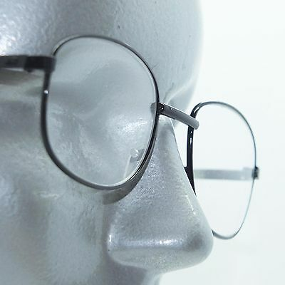 63265dc1e62 Small Rectangle Lightweight Black Metal Wire Frame Reading Glasses +1.00  Lens