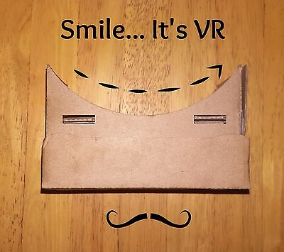 VR Google Cardboard Virtual Reality 3D Glasses Headset (BrilliantValue)