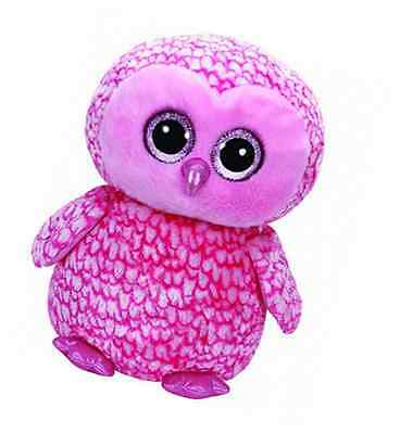 Large Plush TY36608-TY Beanie boo' S-Pinky The Owl