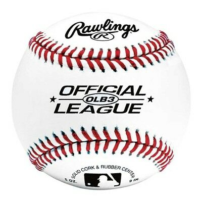 "NEW Rawlings 9"" Official League Baseball Ball from Rebel Sport"