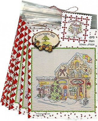 GINGERBREAD SQUARE BOM SET EMBROIDERY PATTERN From Crabapple Hill Studio NEW
