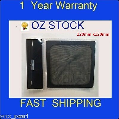 NEW 120mm Ultra Fine Magnetic Fan Dust Filter 120x120mm square Guard Grill