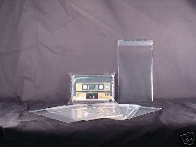 Cassette Case Outer RESEALABLE Sleeve Import Japan Made Archival 50 SoundSource