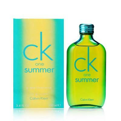 CK One Summer by Calvin Klein for Unisex 3.4 oz EDT Spray 2014 Limited Edition