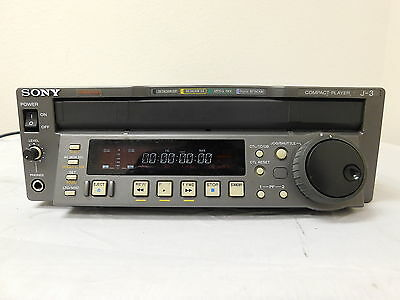 Sony J-3 Digibeta Digital Betacam Player Deck - 2123 Hours