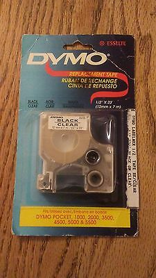 """Genuine Dymo D1 1/2"""" 12mm  LabelManager Refill Replacement Tape 45110"""