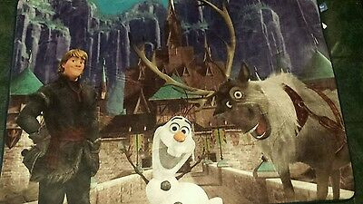 Disney Frozen  Area Floor Rug 40 x 56 Olaf Large New