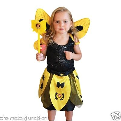 The Wiggles Emma Skirt, Wand & Wings Costume